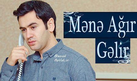 دانلود آهنگ آذربایجانی Uzeyir Mehdizade به نام Mene Agir Gelir
